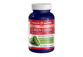 Antioxidant Supplement - GREEN COFFE BEAN EXTRACT CLEANSE - Caffeine Pow... - $13.06