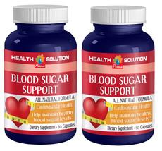 Blood Sugar Support Cardiovascular Health Dietary Supplement (2 Bottles) - $21.46