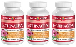 Improves Skin Problems Capsules - Echinacea 400mg - Alkylamides 3B - $29.88