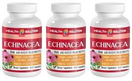 Natural Immune Support Capsules - Echinacea 400mg - Inulin 3B - $29.88