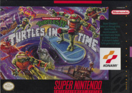 Teenage Mutant Ninja Turtles IV Turtles in Time - $51.66