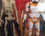 Battle Droid 212 Battalion Clone Trooper Star Wars Mission Series Utapau Damaged