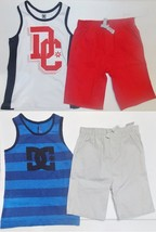 DC Shoes Boys 2pc Shorts and Sleeveless 2 Choices Shirts Sizes 3T 4T NWT  - $18.89