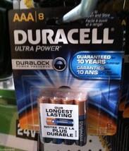 Battery; DURACELL Ultra Digital; Size AAA; 8 Batteries Per Pack - $11.88