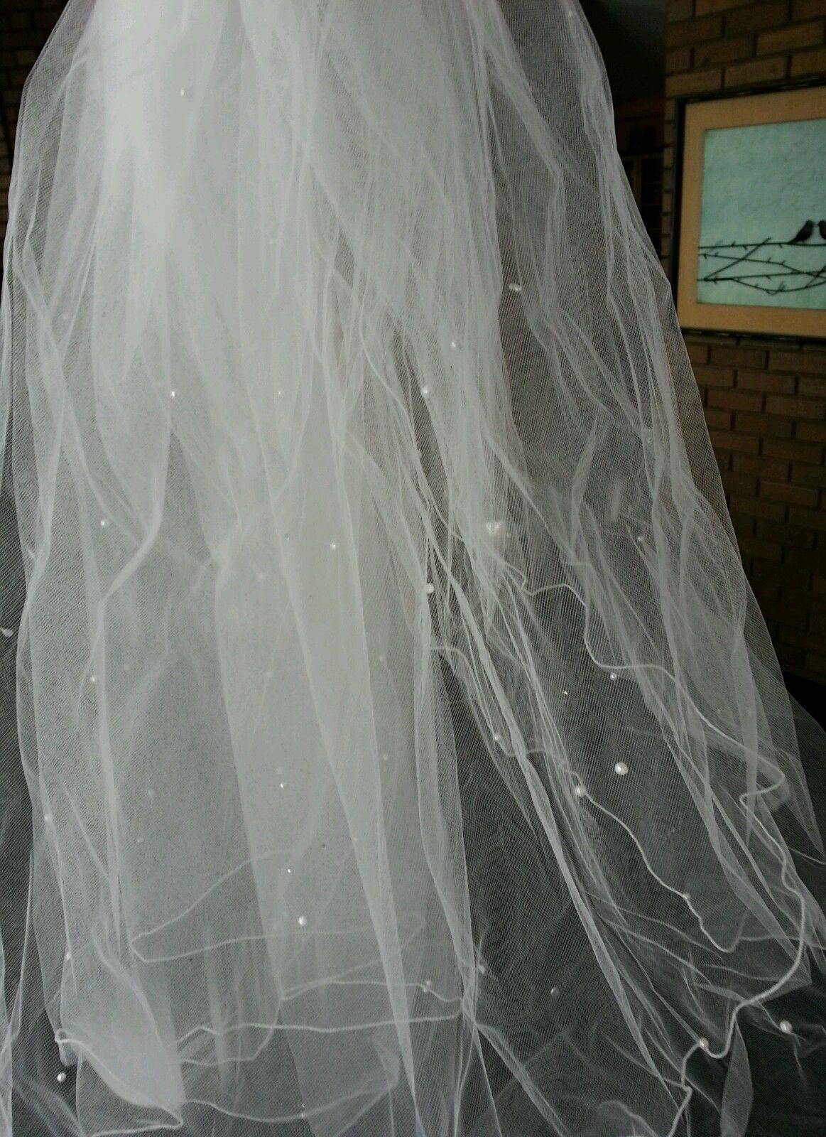 WHITE COLOR WEDDING VEIL