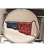New Hampshire Italian Charm Link 9 MM - $9.95