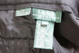 RALPH LAUREN Black Wool Blend Wear to Work Dress Pants 6 Petite image 5