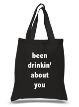 """Bebe Rexha """"Been Drinkin' About You"""" 100% Cotton Tote Bag - $15.16 CAD"""