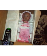 ASHTON DRAKE Black/African American SWEET CARNATION Real Baby DOLL -Reti... - $62.95