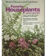 Better Homes and Gardens Favorite Houseplants (Soft Cover) - $2.99