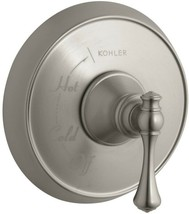 KOHLER Tub Shower Faucet Trim Kit Single-Handle Brass Vibrant Brushed Nickel - $360.52