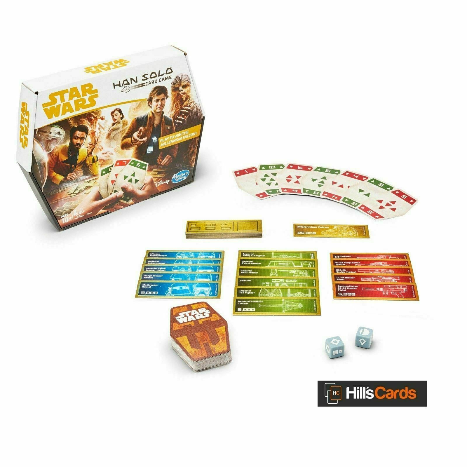 Star Wars Han Solo Card Game - $19.26