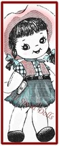 Vintage Pattern for Cowgirl  Sock Doll - $5.99