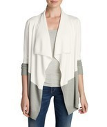 Eddie Bauer Women's Flightplan II Cardigan Sweater, Ivory, size XL, NWT - $81.00