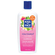 Miss Treated Conditioner, Palmarosa Mint, 11 Oz by Kiss My Face - $5.49