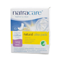 Ultra Long Pads with Wings, 10 CT by Natracare - $3.92