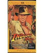 Indiana Jones and the Raiders of the Lost Ark (1981) VINTAGE VHS Cassette  - $13.99