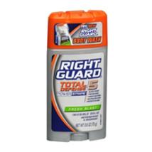 Right Guard Anti-Perspirant Deodorant Power Stripe, Invisible Solid Fresh Blast  - $4.13