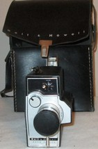 BELL & HOWELL  ZOOM REFLEX MOVIE CAMERA U.S.A. WITH HANDLE 2 FILM & CAS... - $38.07
