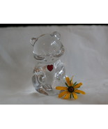 Fenton Birthstone Bear with Ruby Red Heart for ... - $14.99