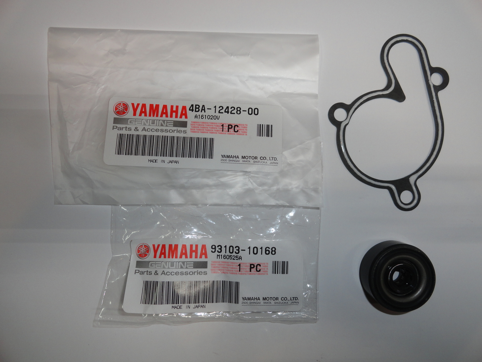 Primary image for Water Pump Seal Gasket OEM Genuine Yamaha YZ80 YZ 80 93-01