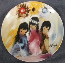 Bright Flowers Of Desert Collector Plate Children Of The Sun Ettore Ted ... - $21.95