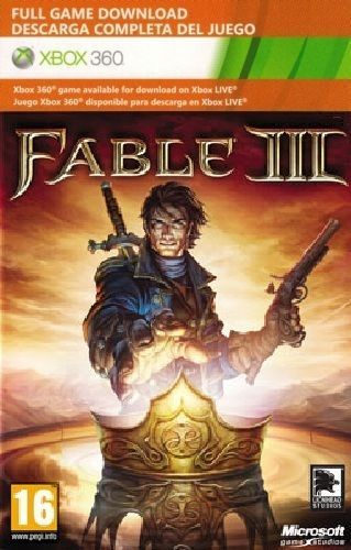 Fable III{3} xbox 360/ONE game Full download card code [DIGITAL]