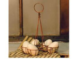 Easter Basket Wire Holder Bunny Rabbit Decor Di... - $24.99