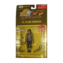 THE ULTIMATE SOLDIER U.S. FLAME THROWER 1:18 SCALE - $26.40