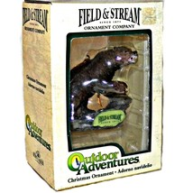 Kurt S Adler Field and Stream Outdoor Adventures Brown Bear Christmas Ornament - $17.99
