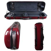 Tonareli Violin Oblong Fiberglass Case- Red Graphite  VNFO 101... - $265.00
