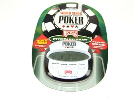 Bicycle World Series Poker Game 30141 Five Card Draw Pocket Size NOS - $18.80