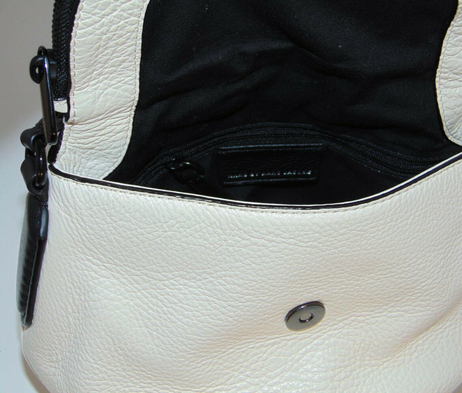 Marc by MARC JACOBS New Q Perforated Mini Natasha Bag  Black/Milk image 6
