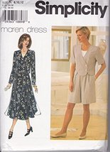 Simplicity 7126K Sewing Pattern Misses Maren Dress Size 8-12 - $9.85