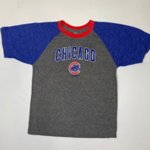 Women's Chicago Cubs T-Shirt Size XL - Grey/Blue/Red - $9.79