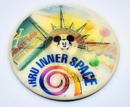 "1995 Walt Disney World 40 Years Of Adventure 5"" Collectible 3-D Pinback Button - $7.65"