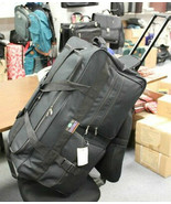 "Large  30"" Rolling Wheeled Duffel Bag Luggage 5791 FREE SHIP Wheels Duff... - $33.66"