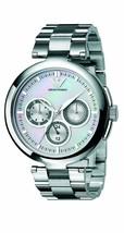 Emporio Armani AR0734 Ladies Donna White Silver Watch - $128.60