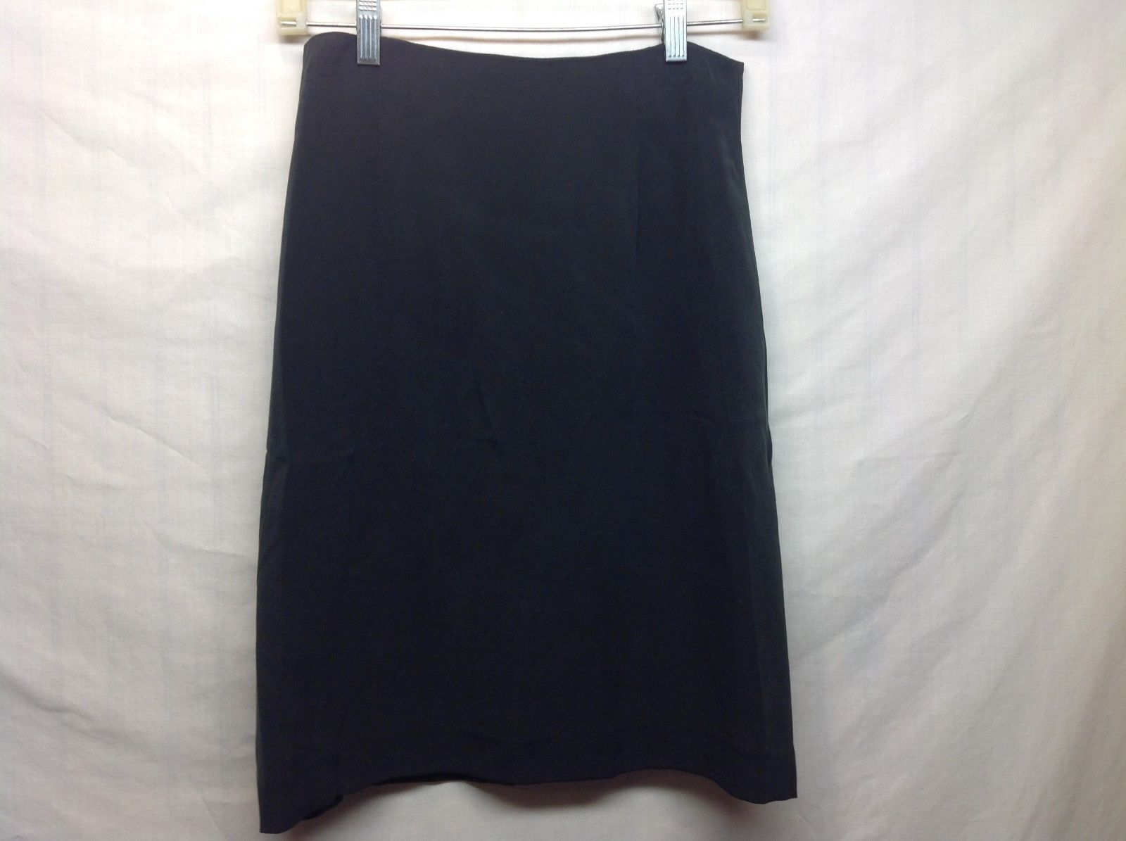 Silk Collection by WinterSilks Inc Black Skirt Sz 6
