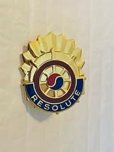 US Military 7th Sustainment Brigade Insignia Pin - Resolute - $10.00