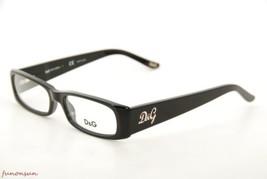 Dolce&Gabbana Mujer Gafas D&g 1163 501 Plástico Negro Rectangular Marco - $87.21