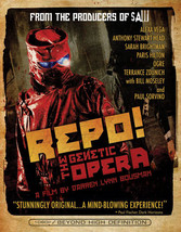 Repo The Genetic Opera (Blu Ray) (Ws/Eng/Eng Sub/Span Sub/7.1 Dts)