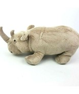"Disney Parks Worldwide Conservation Fund Plush Stuffed Rhino Gray 14"" Re... - $21.78"
