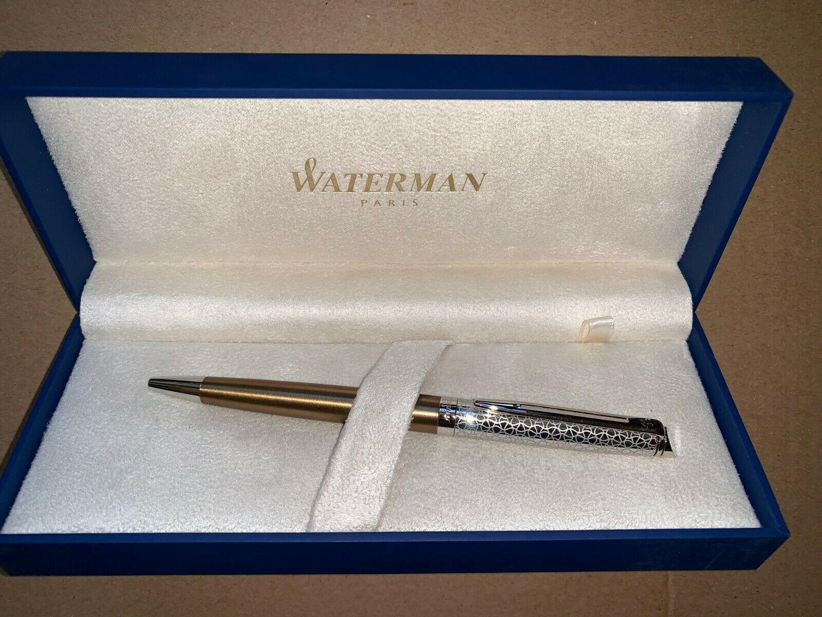 Waterman Hemisphere La Collection Privee Ballpoint Pen Bronze Satine with Chrome