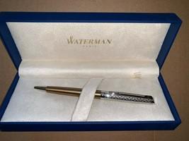 Waterman Hemisphere La Collection Privee Ballpoint Pen Bronze Satine wit... - $76.03