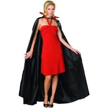 Rubie's Satin Cape Adult Costume, Black, One Size - $25.27
