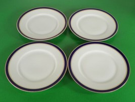 Rosenthal Continental Kronach Bavaria ELSE Bread Plate (s) LOT OF 4 Blue Band - $24.70