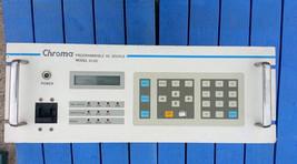 Chroma 6120 Programmable AC Source [#B3] - $990.00