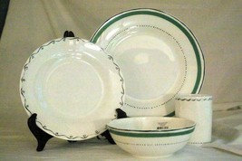 Lenox 2019 Union Square Green 4 Piece Place Setting NIB - $74.69