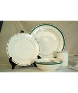 Lenox 2019 Union Square Green 4 Piece Place Setting NIB - $52.28